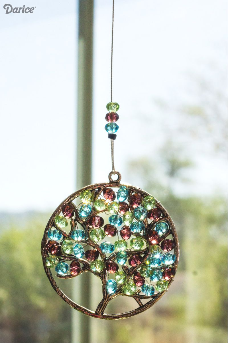 Mother's Day Homemade Gifts Crafts - Rainbow suncatcher