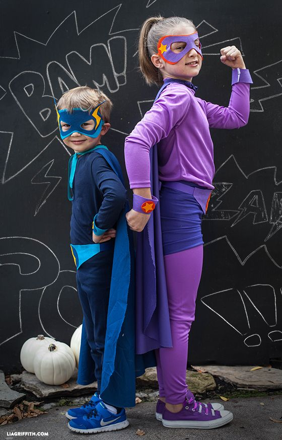 20 diy superhero costumes how to make a superhero halloween costume solutioingenieria Images