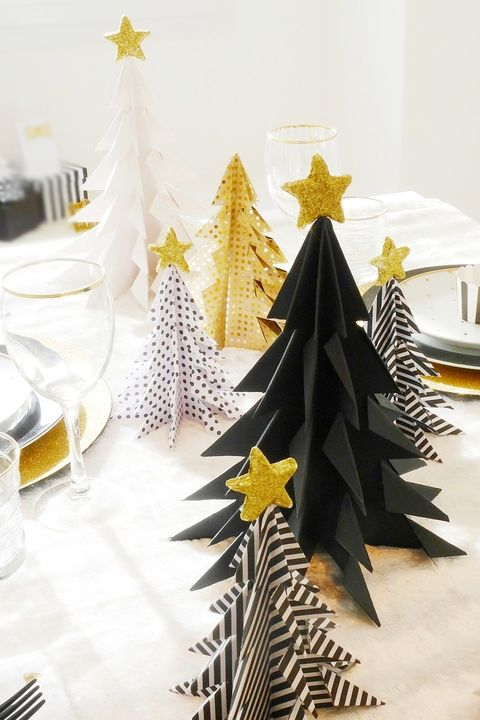 Paper Christmas Tree.15 Best Paper Christmas Decorations In 2019 Diy Paper