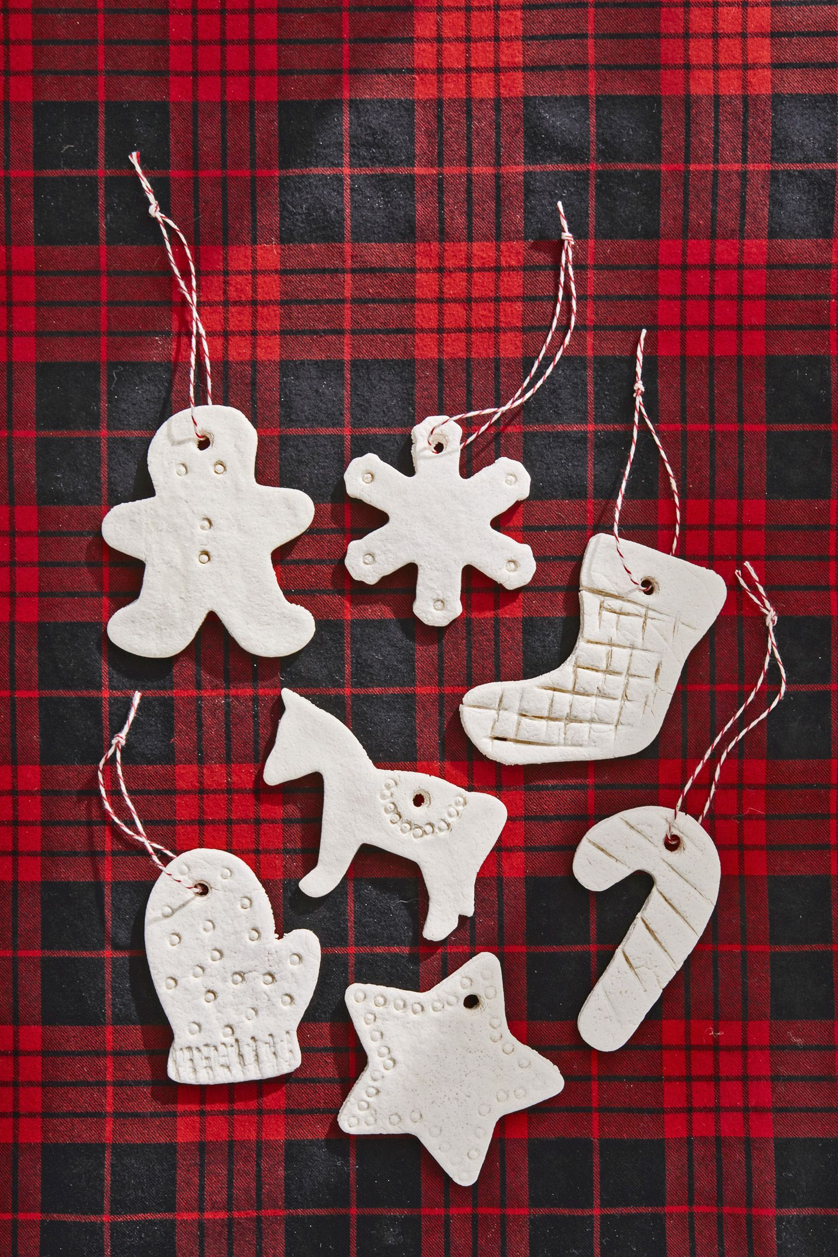 diy ornaments cross salt dough