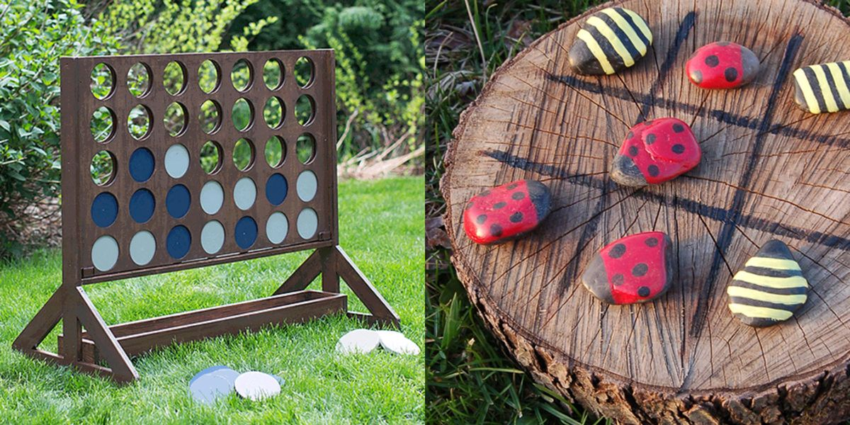 28 Fun Diy Outdoor Games For Kids Backyard Party Games