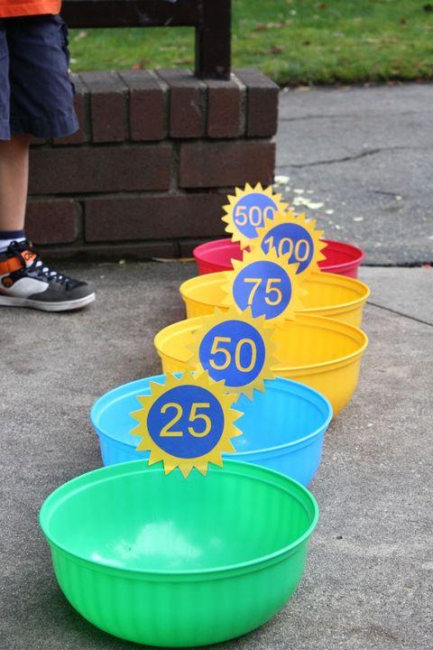 diy outdoor games bean bag bowls