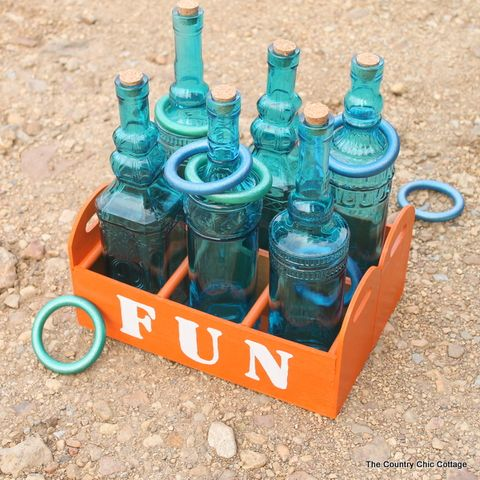 diy outdoor games ring toss