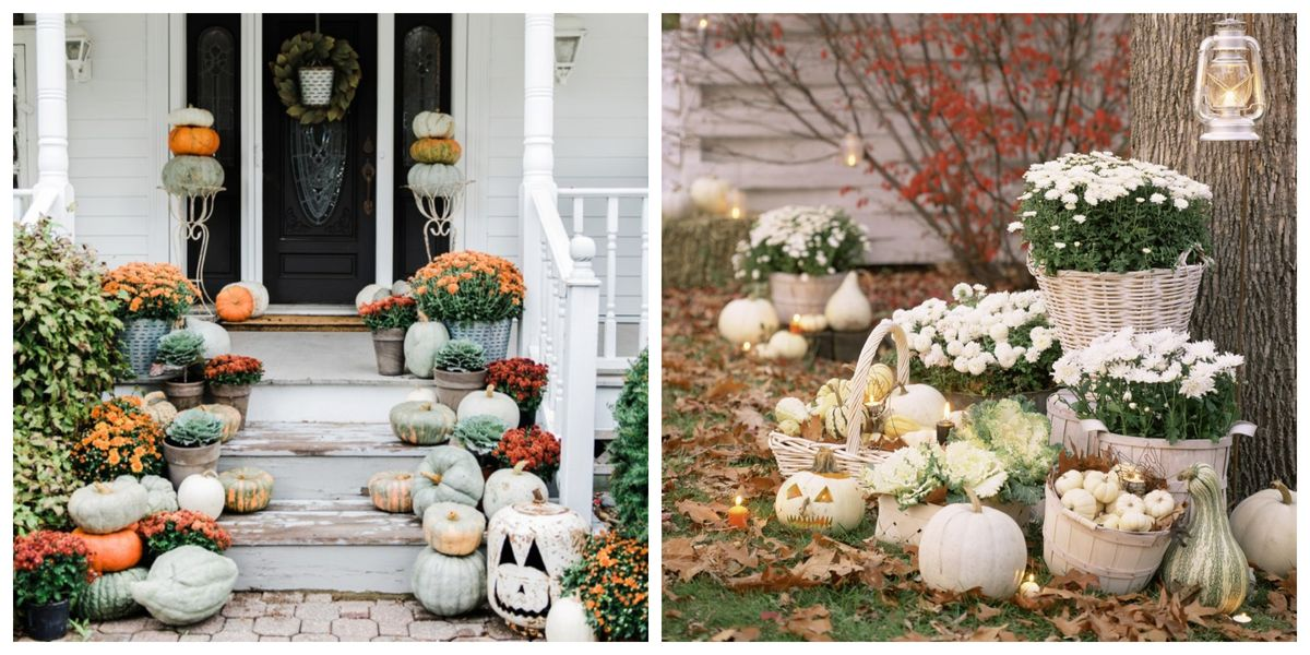 40 best outdoor halloween decoration ideas easy halloween yard and porch decor. Black Bedroom Furniture Sets. Home Design Ideas