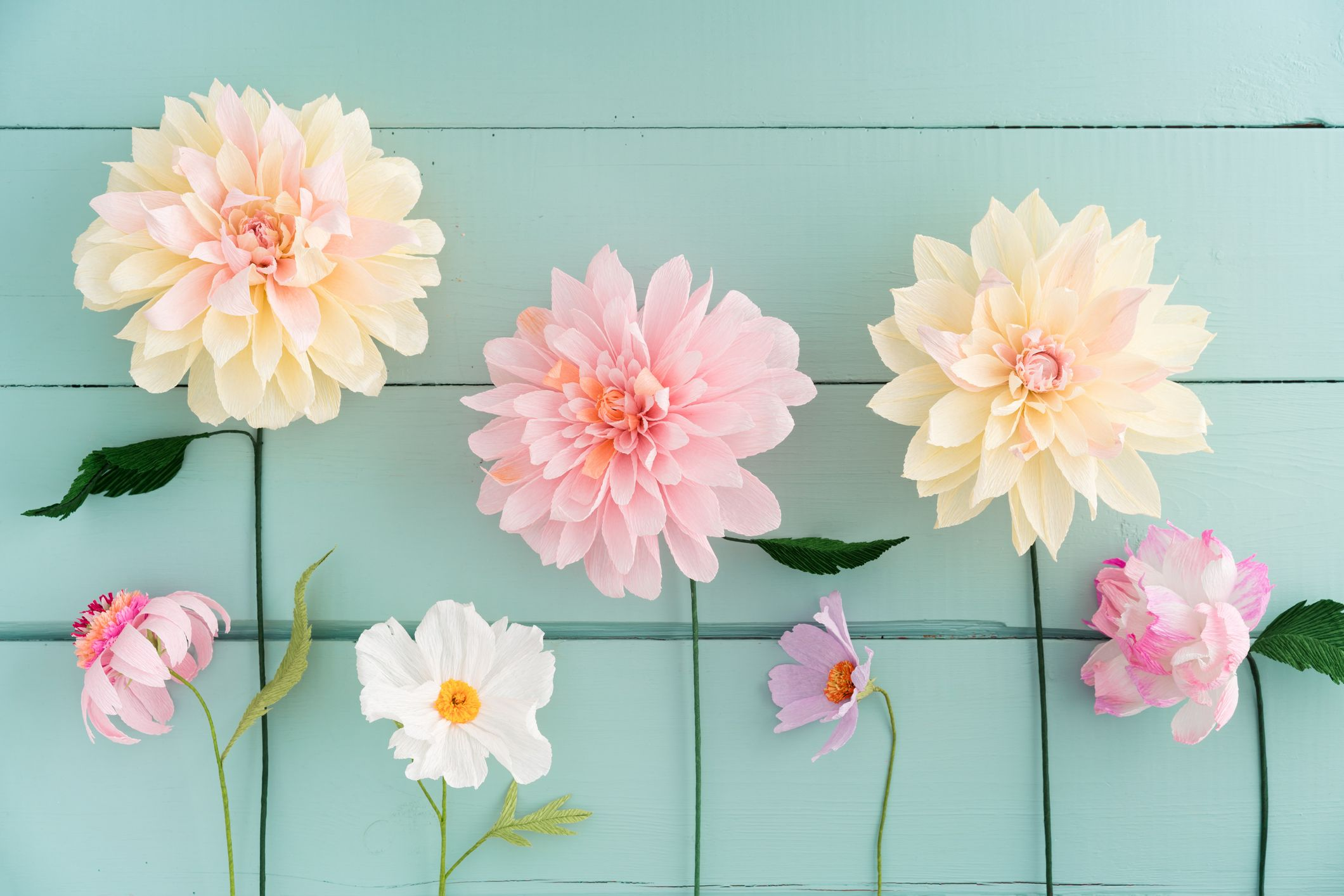 20 Diy Paper Flowers How To Make