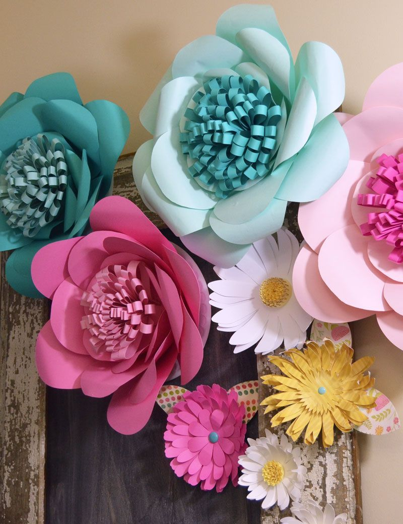 20 Diy Paper Flowers How To Make Paper Flowers