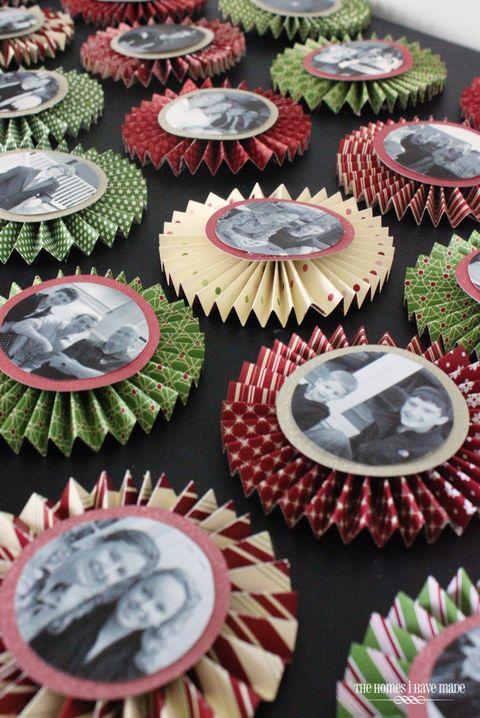 diy photo ornaments medallion