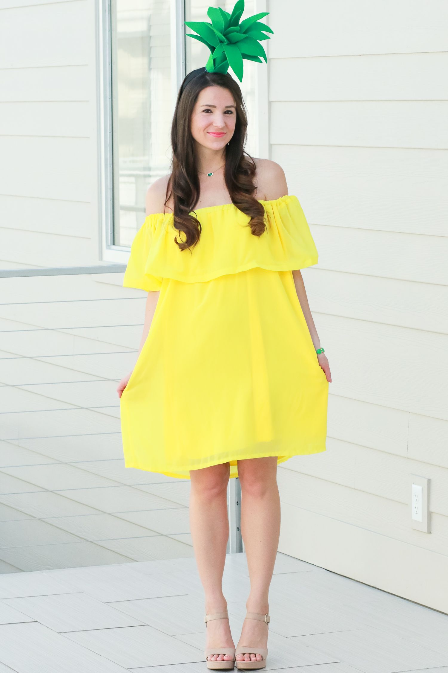 Pineapple Easy Halloween Costumes The Diary Of Debutante