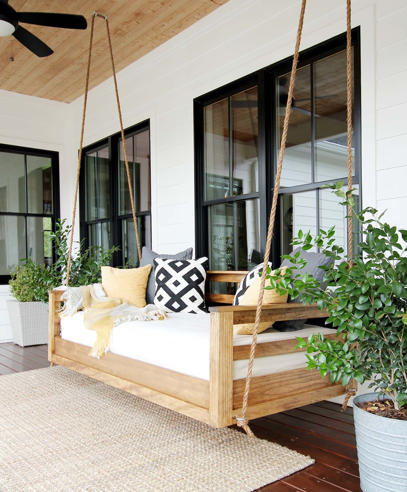20 Porch Swing Plans Diy