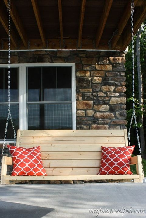 diy porch swing boards