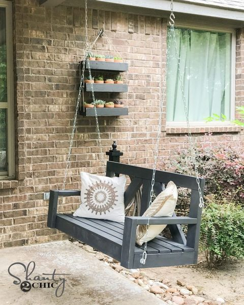 diy porch swing farmhouse