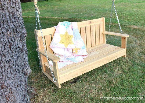 16 Porch Swing Plans Diy