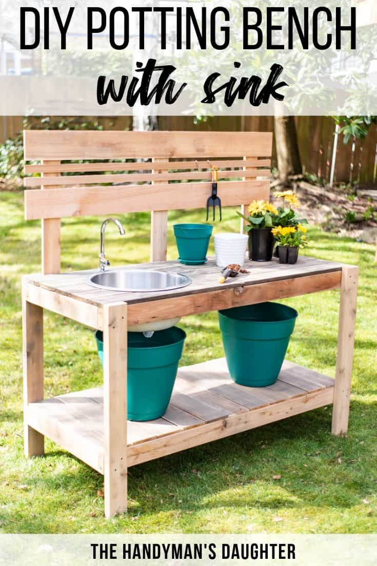 Lakewood 3 Person Swing, 15 Diy Potting Bench Plans How To Make A Potting Bench