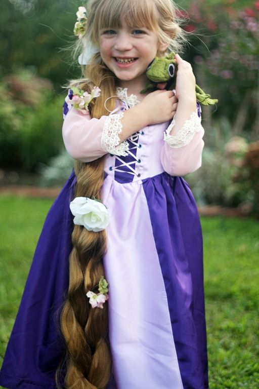 diy princess costumes rapunzel