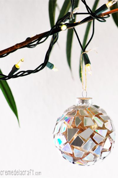 62 Homemade Christmas Ornaments - DIY Crafts with Christmas Tree ...