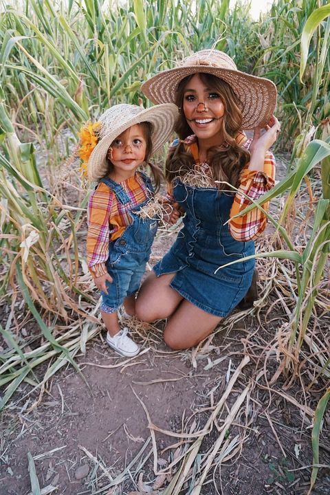mommy and me scarecrow costume