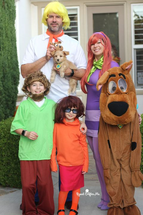 diy scooby doo family costume