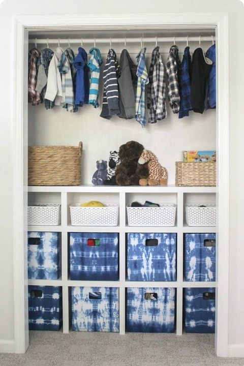 30 closet organization ideas best diy closet organizers. Black Bedroom Furniture Sets. Home Design Ideas