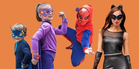 25 Diy Superhero Costumes How To Make A Superhero Halloween Costume