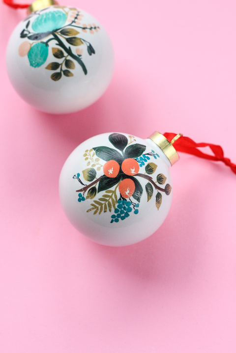 Diy Christmas Ornaments How To Make Homemade Christmas