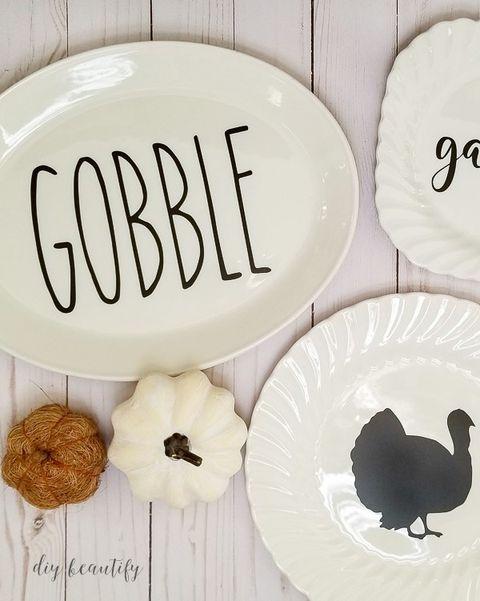 thanksgiving plates thanksgiving table decor