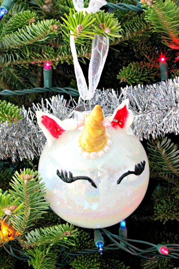 20 Unicorn Ornaments How To Diy Or Buy Fun Christmas Unicorns For