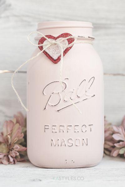 diy valentine gifts mason jar