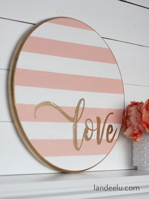 diy valentine gifts sign