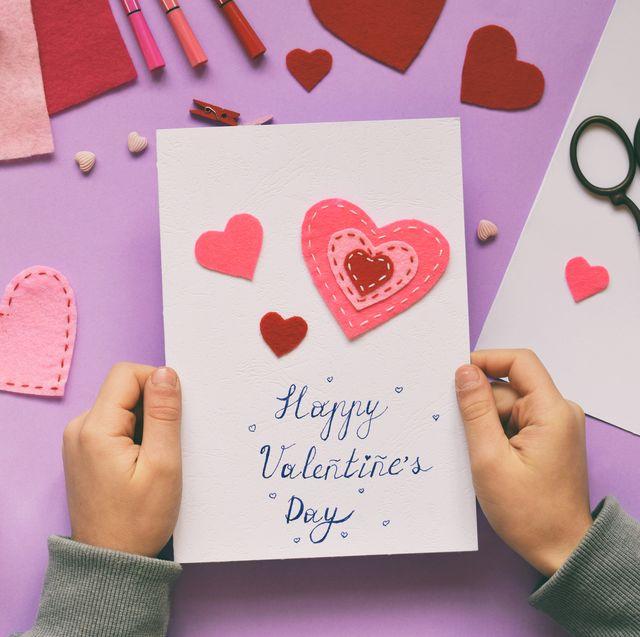 35 easy diy valentine's day cards  homemade valentine's