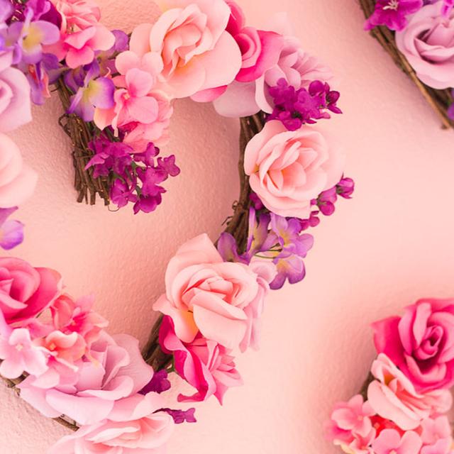33 Diy Valentine S Day Wreaths Homemade Door Decorations For