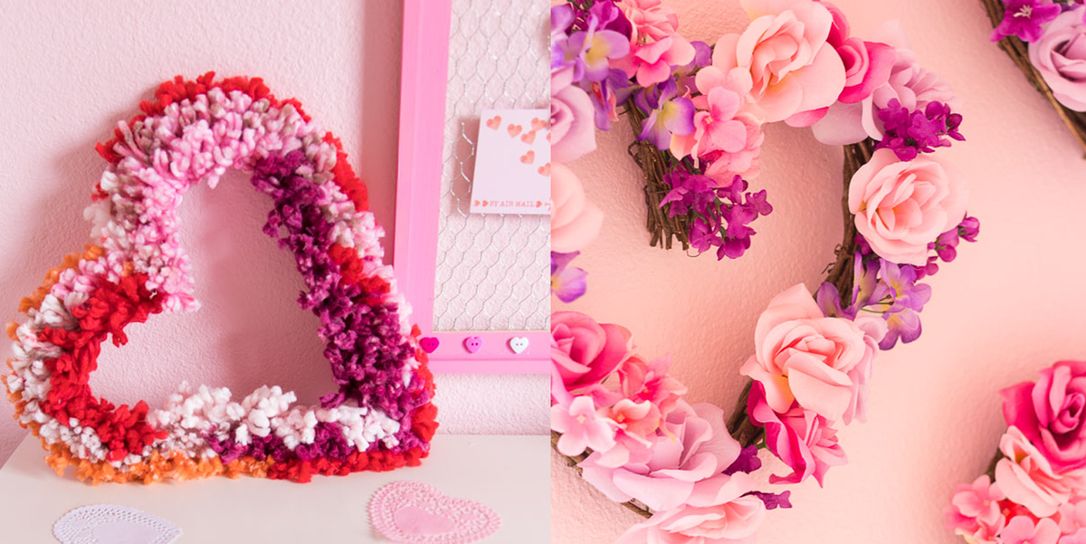 33 Darling Valentine's Day Wreaths to Welcome Guests All Winter