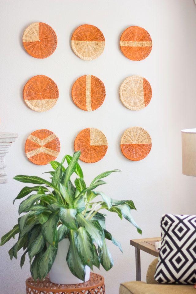 15 Diy Wall Decor Ideas For Any Room, Round Wall Decor Ideas