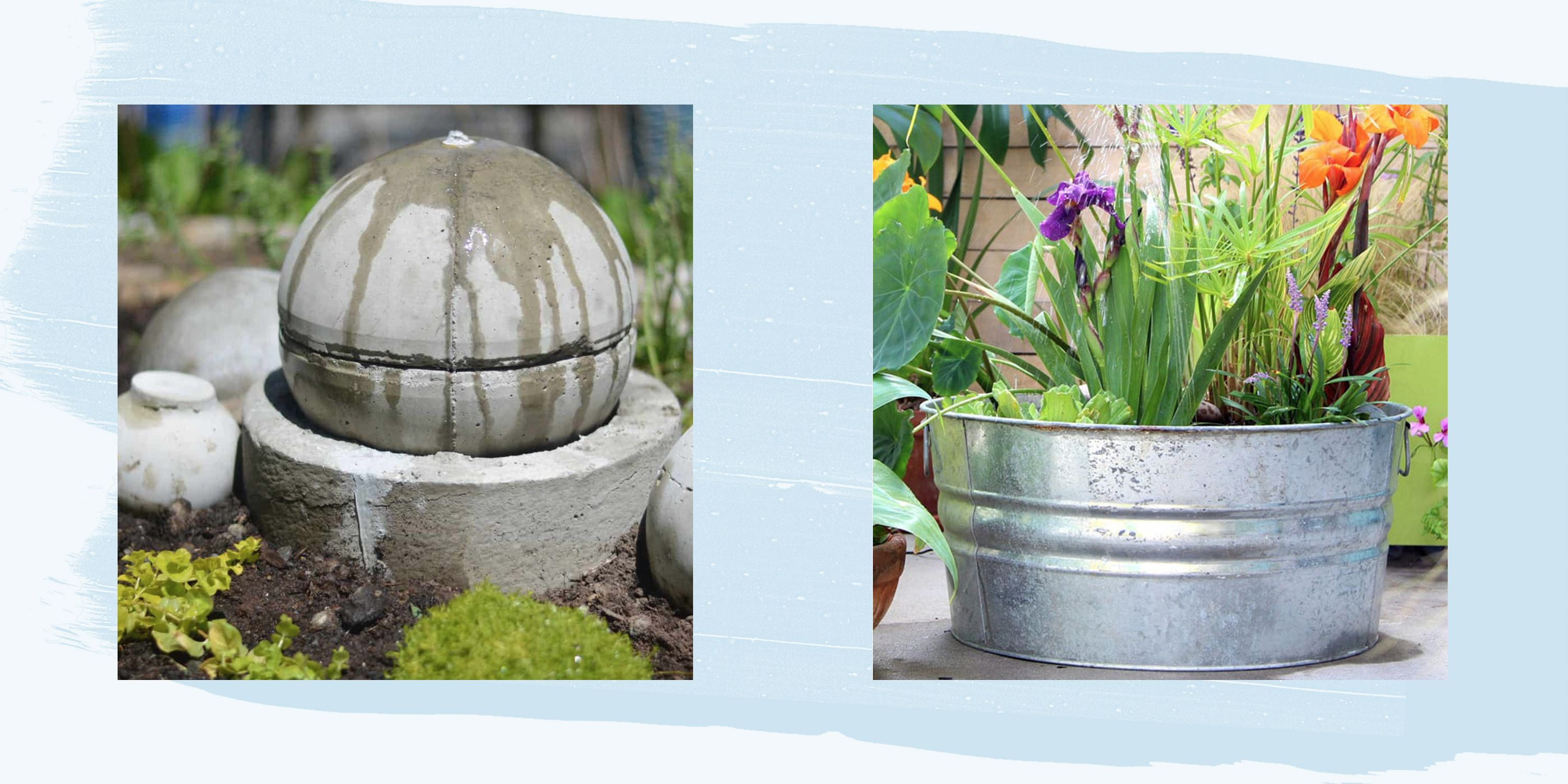 diy water fountains