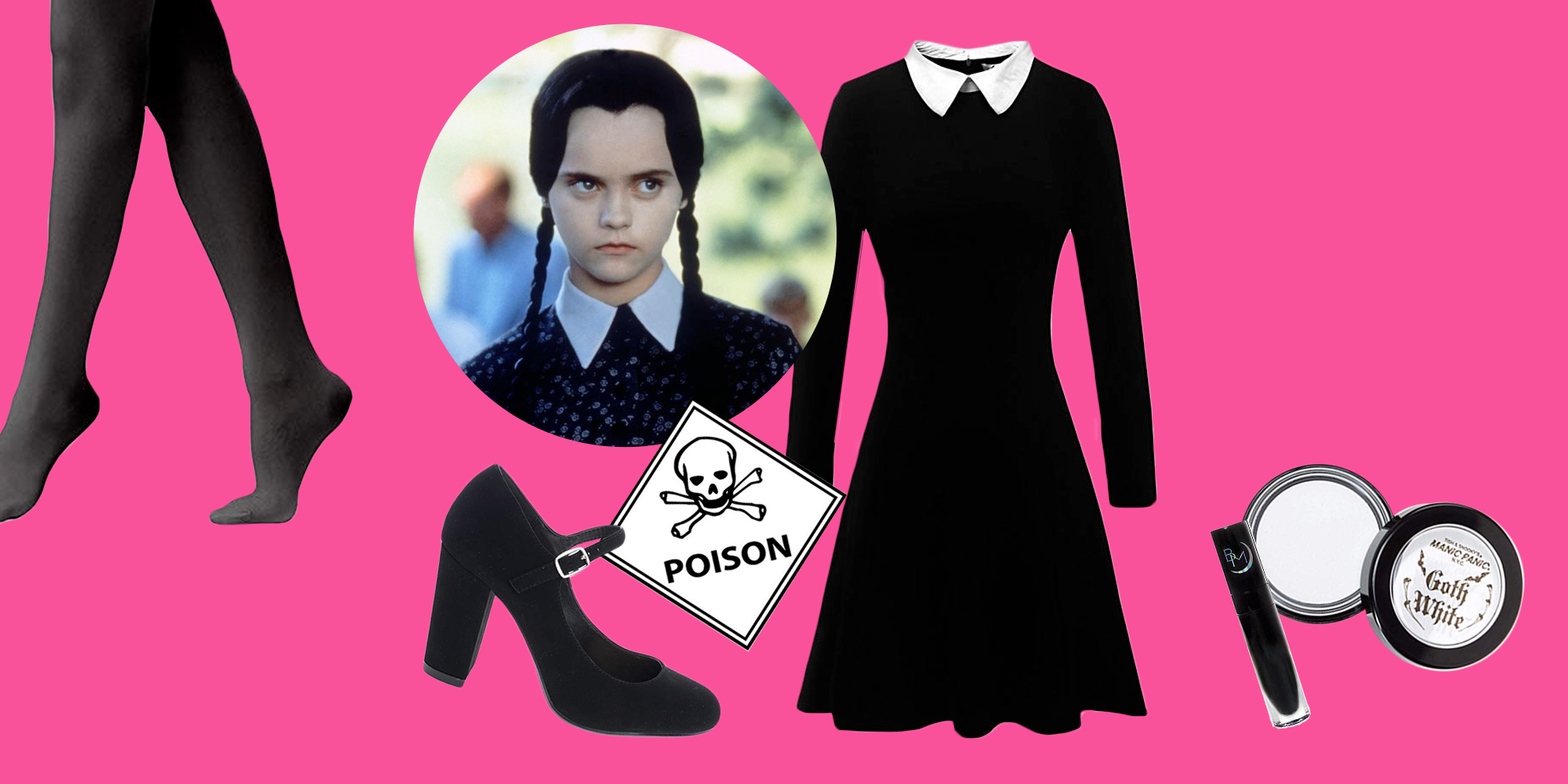 Morticia Costume Adult Addams Family Halloween Fancy Dress