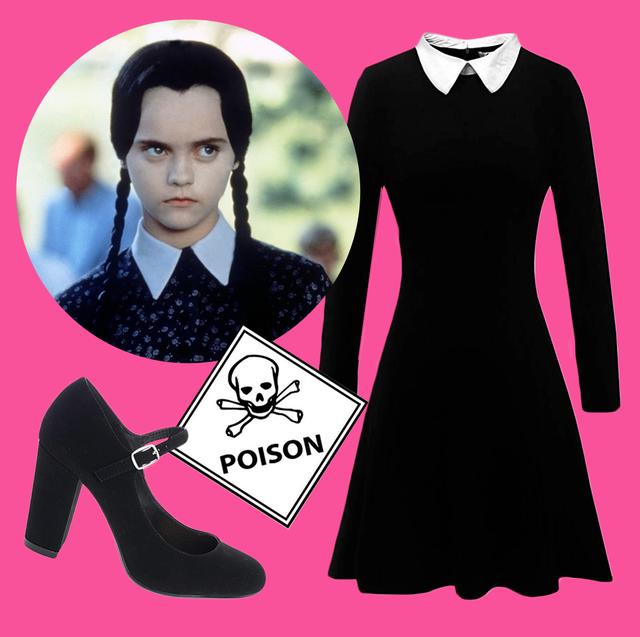 15 Best Wednesday Addams Costume Ideas 2019 Dress Wig