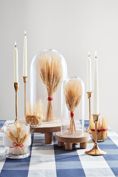diy wheat crafts for Thanksgiving