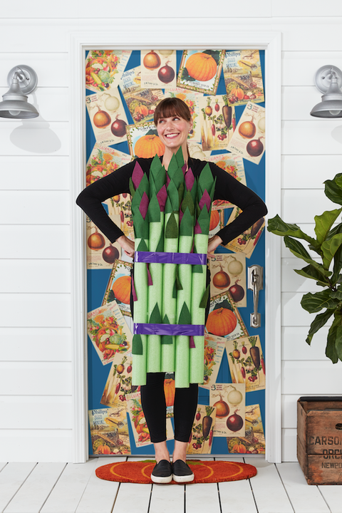 asparagus costume women diy