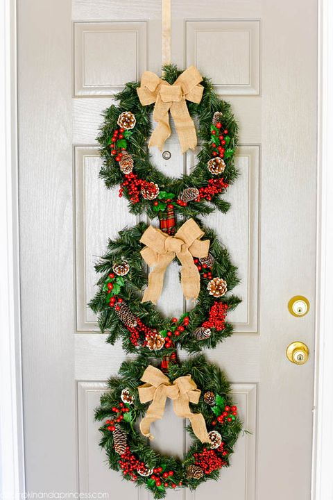 80 Diy Christmas Wreaths How To Make Holiday