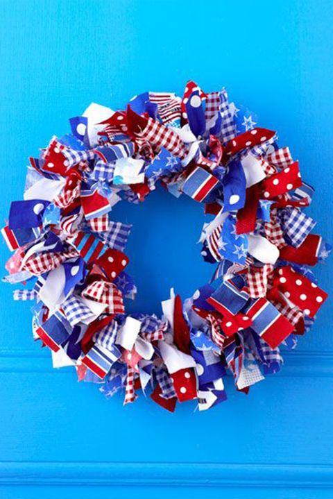 diy wreaths fabric wrapped wreath