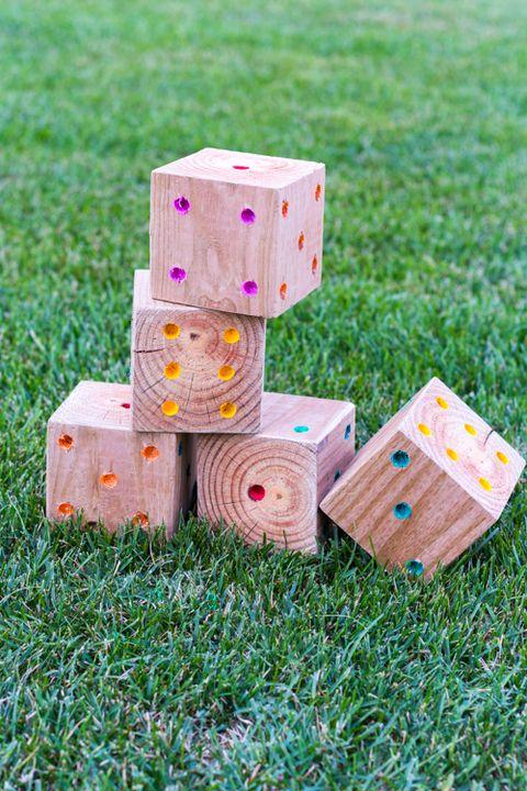 diy yard yahtzee best outdoor games