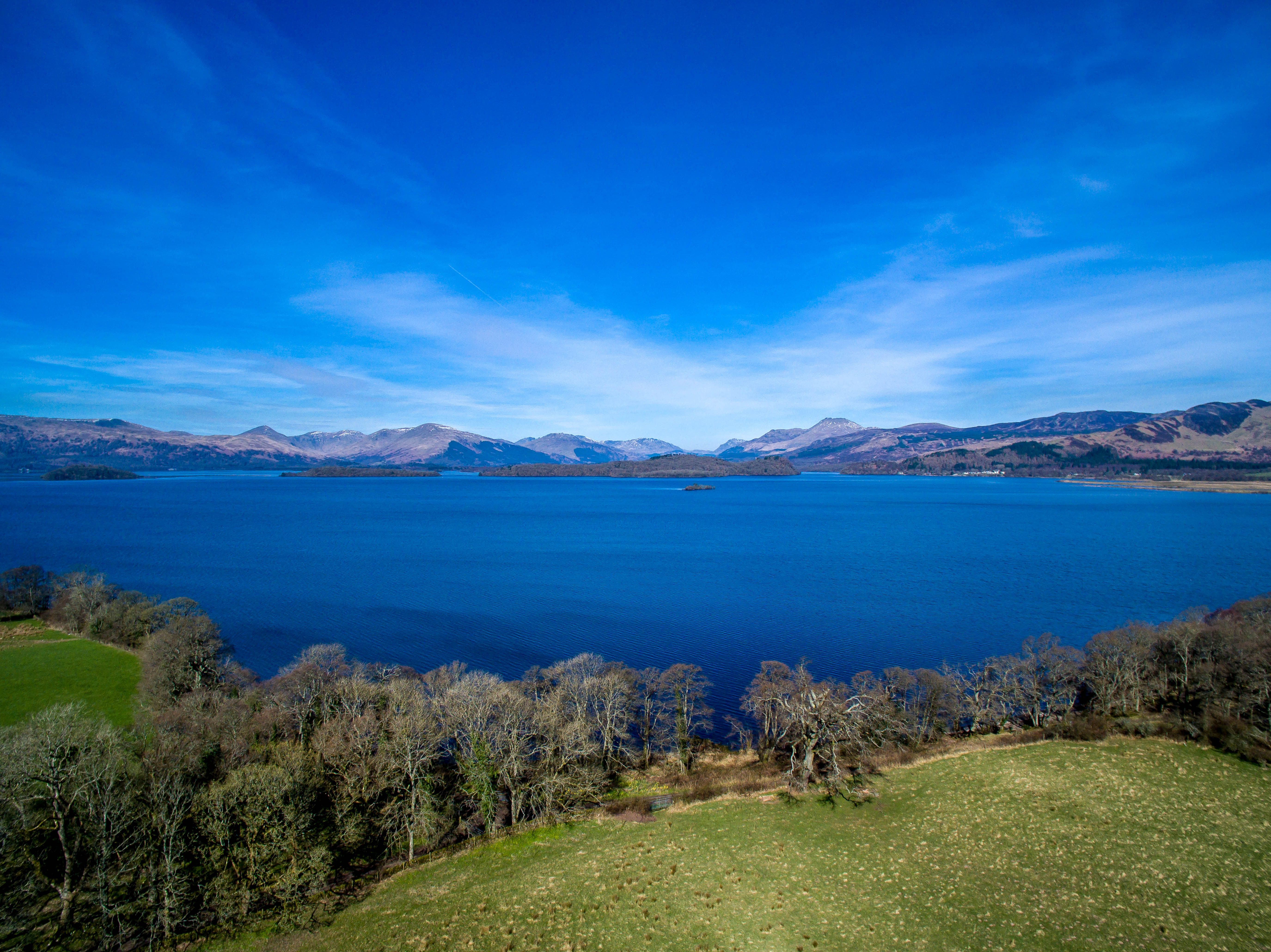 Secluded island for sale in Loch Lomond, Scotland, for under £100,000