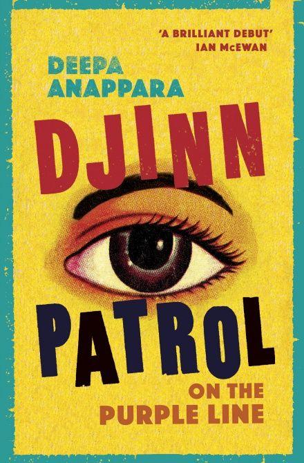 Djinn Patrol on the Purple Line - front cover