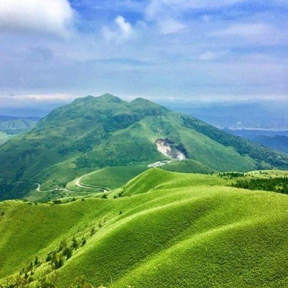 台北版抹茶山小觀音山宜蘭聖母山莊