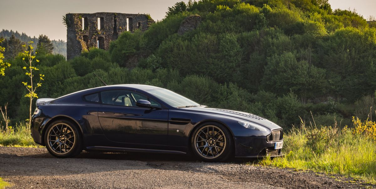 Restomod Aston Martin V8 Vantage Makes A Delightful Track Weapon