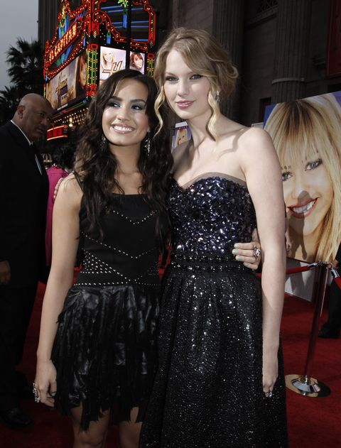 Demi Lovato y Taylor Swift