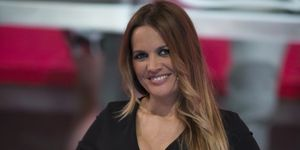 Marta López recuerda que casi da a luz en la tele