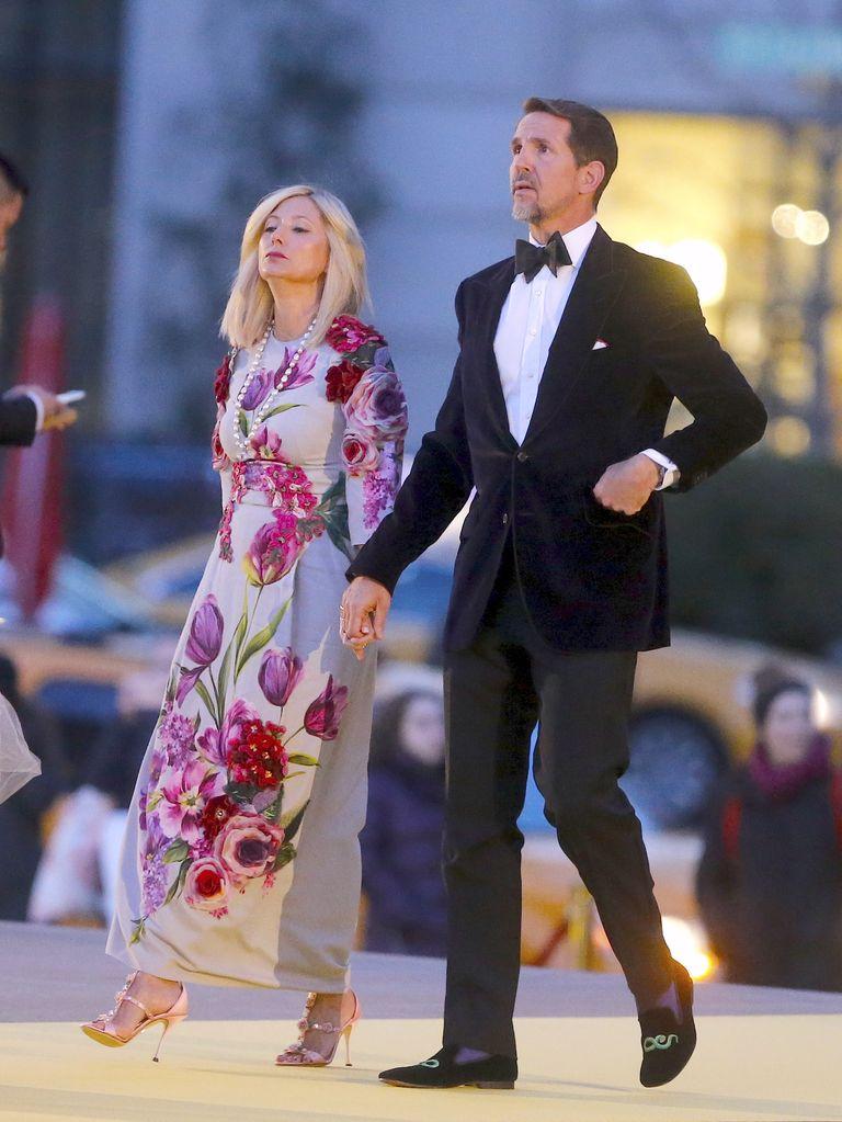 Famosos en el desfile de Alta Costura de Dolce & Gabbana en Nueva York