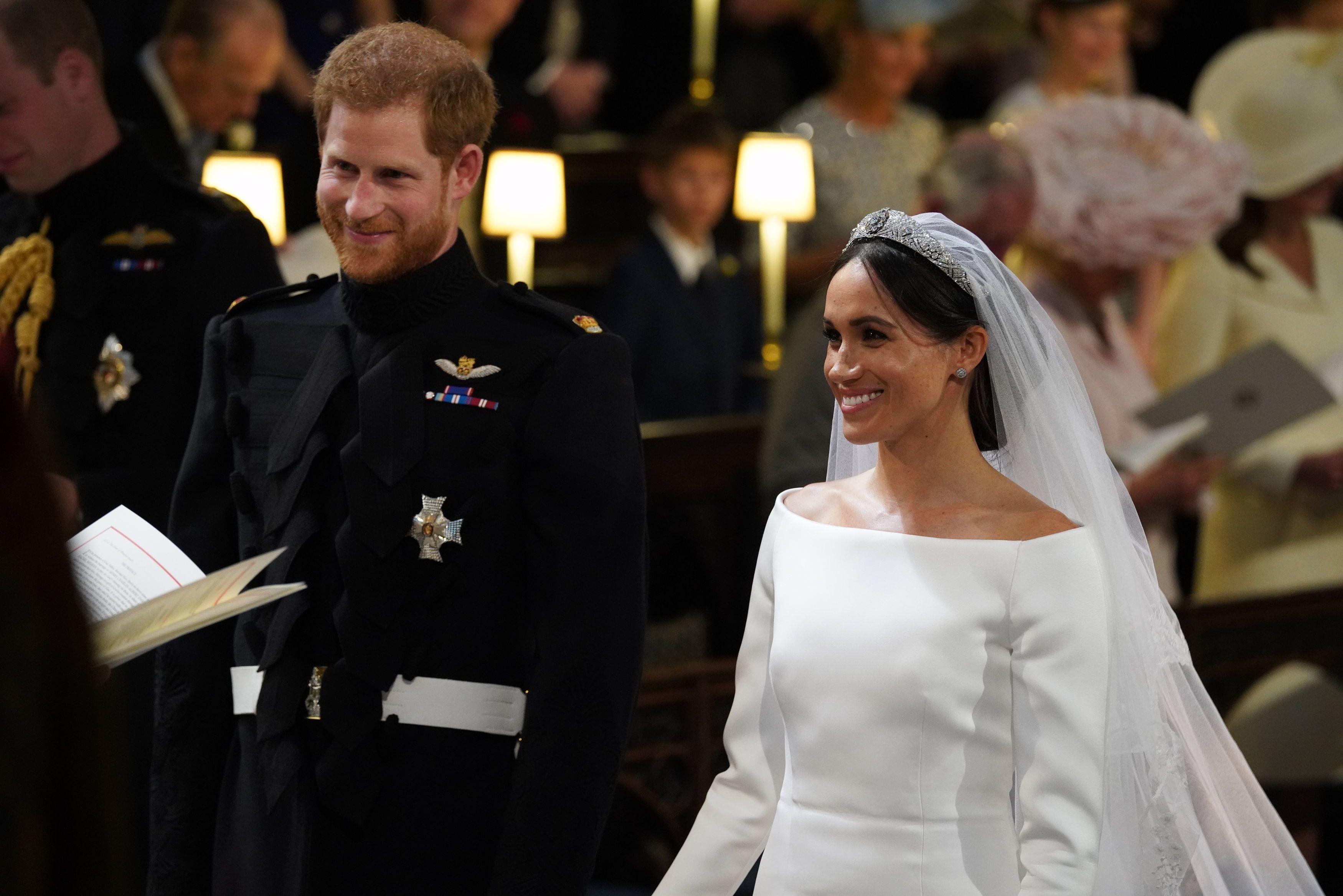 Segundo vestido de boda de meghan