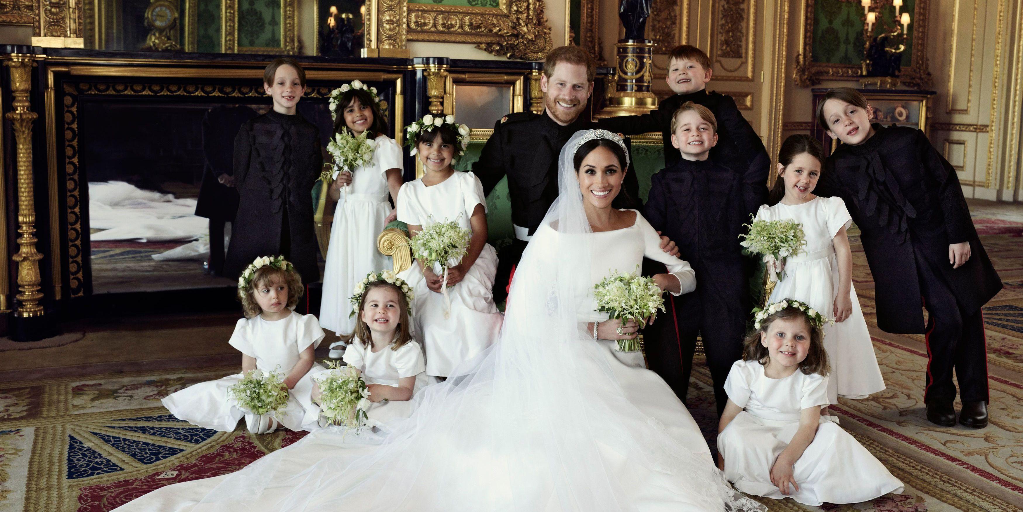 El homenaje más sutil de Meghan y Harry a Lady Di en las fotos oficiales de su boda