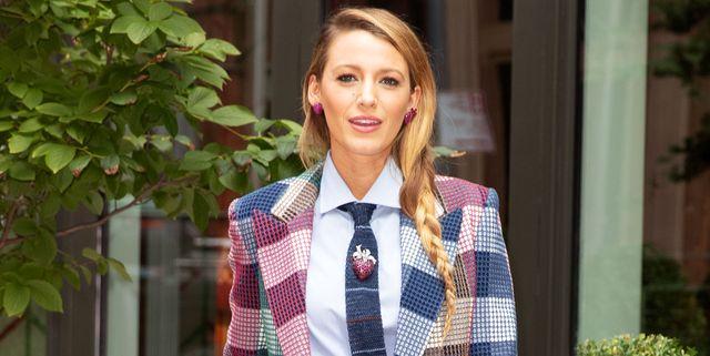 Blake Lively y Zara coinciden  Llevarás el efecto 3D estampado en tu ropa 8990ca270a80